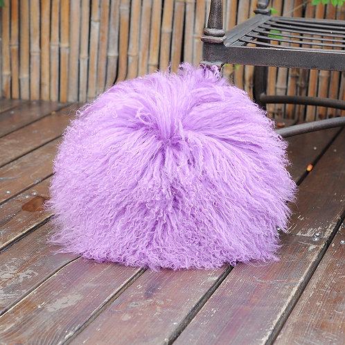 """DMD064  Mongolian lamb Fur  Cushion Cover -16"""""""