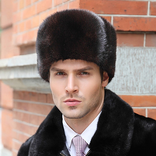 DMC92 Mink Fur Hat for Men