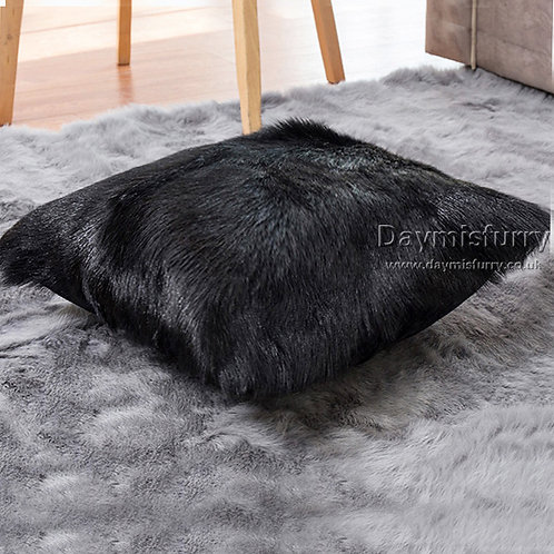 DMD40A  Goat Lamb Fur Pillow / Cushion Case