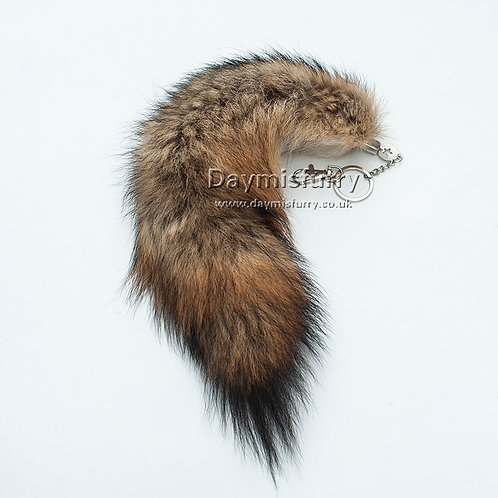 DMR05 Fox Tail Bag Clip / Costume Cosplay / Keychain
