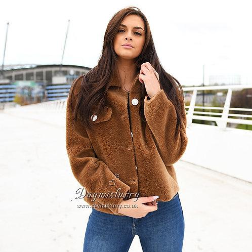 DMGT04A Shearing Teddy Bear Jacket