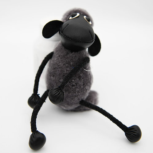 DMR57 Shearing Lamb Fur Lovely Goat  Bag Charm