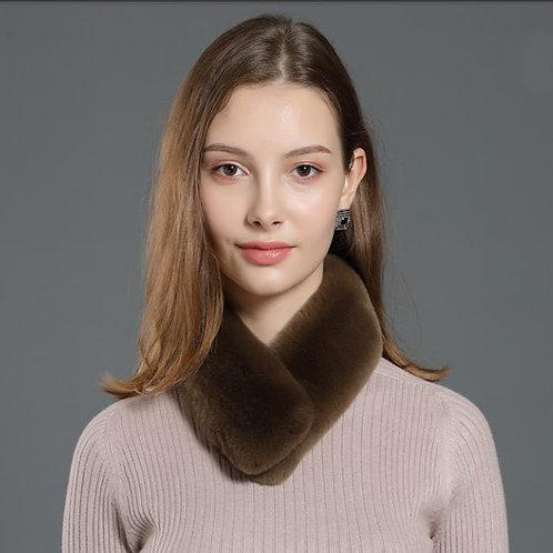DMS04D  Rex Rabbit Fur Scarf