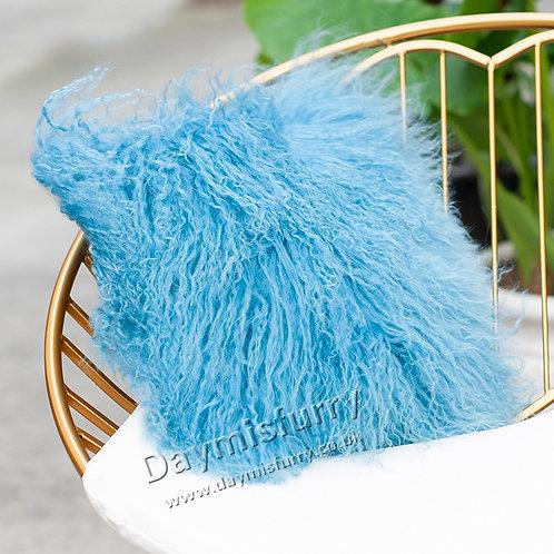 DMD04S  Mongolian lamb Fur Pillow / Cushion Case