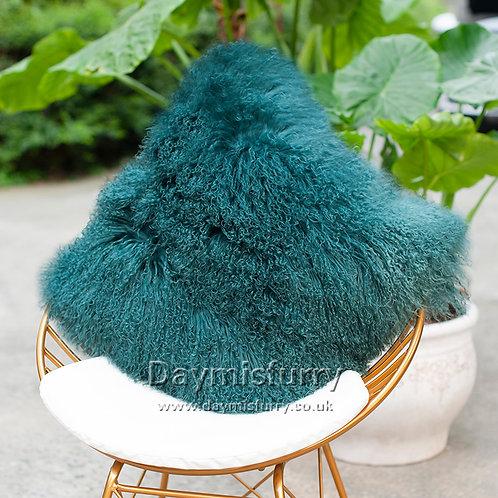 DMD04R  Mongolian lamb Fur Pillow / Cushion Case