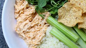 Buffalo Chicken Rice Bowls