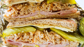 Cuban Sandwiches with Instant Pot Pulled Pork