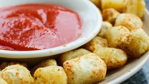 Air Fried Cauliflower Gnocchi Tots