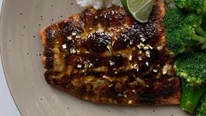 Chili Lime Crusted Salmon