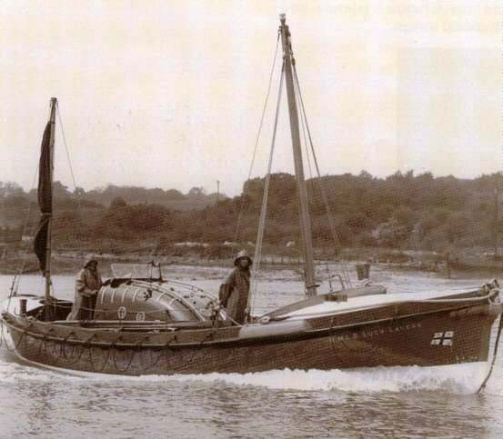 Lucy Lavers lifeboat in 1940