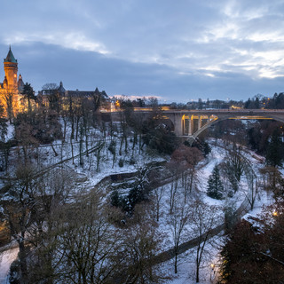 Luxembourg Petrusse Pont Adolphe BCEE sn