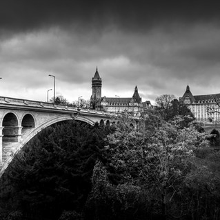 Luxembourg Pont Adolphe and BCEE