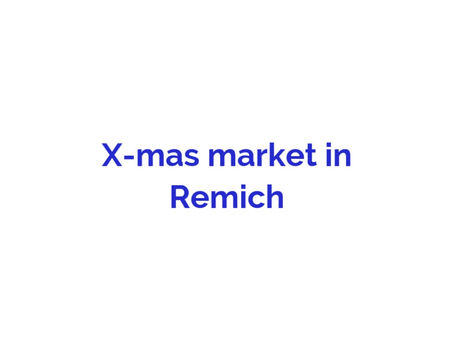 Xmas market in Remich