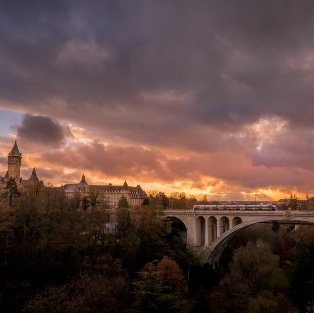 Luxembourg Skyline Pont Adolphe