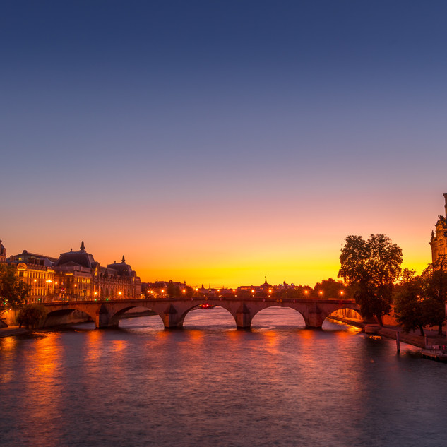 Sunset at Musée d'Orsay