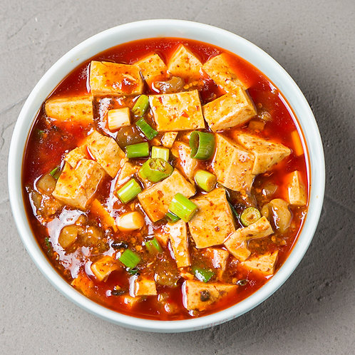 Chilli mapo tofu with minced pork  (10604)