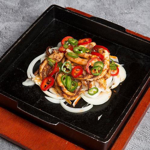 铁板香辣鱿鱼须 (35005)
