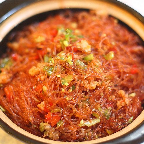Stir fired vermicelli in xo sauce (10246)