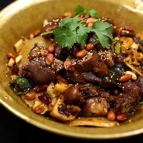 干锅猪手 (10027)