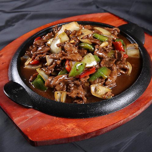 铁板黑椒牛肉 (10304)