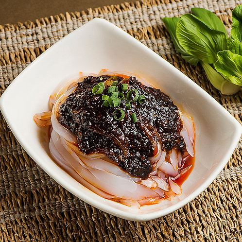 Bean Jelly Noodles with hot and sour sauce (89003)