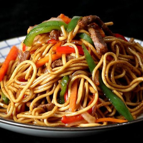 Beef Slices With Wok Fried Noodle (89815)