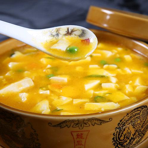 Tofu pudding with salted egg yolk (10231)