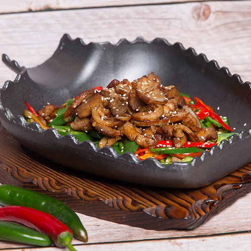 Dried fried pork ribs and soft bone (10424)