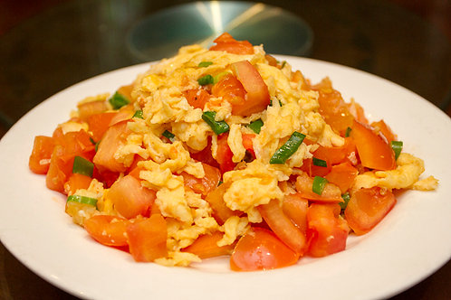 Stir fried tomato with egg (10965)