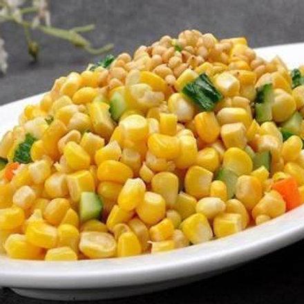 Corn stir fried with pine nuts (10606)