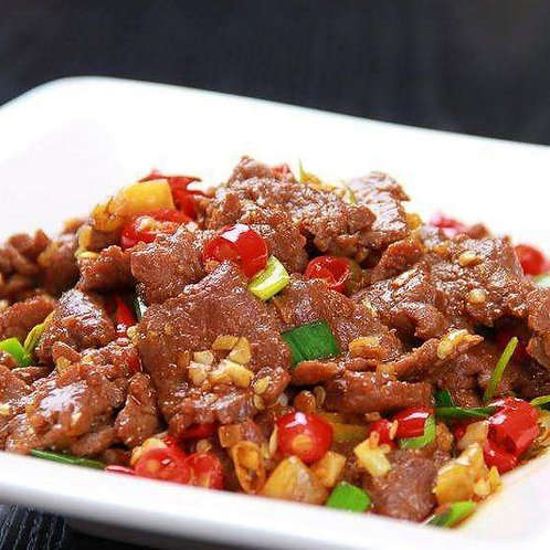 Stir fried chilli beef (10322)