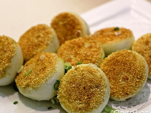 Pan fried buns with sesame (10933)