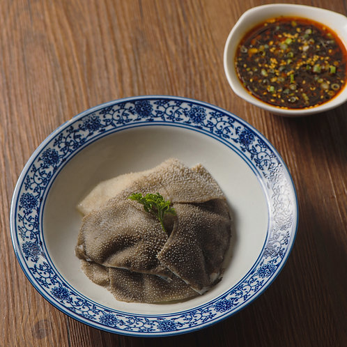 Beef tripe with ginger sauce (91101)