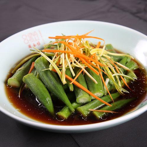 Okra in soy sauce (10638)