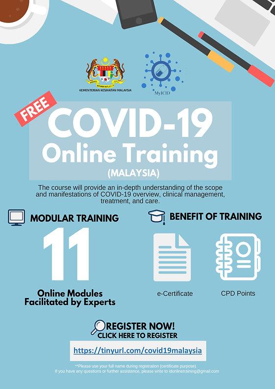 Invitation COVID-19 Online Training (Mal