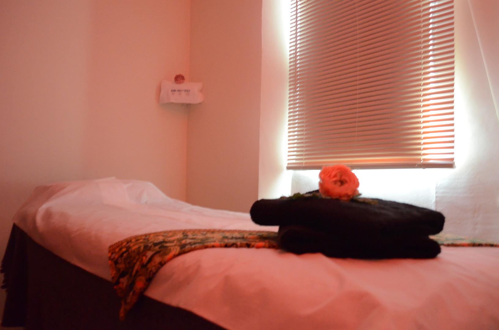 Massage Room Red Light