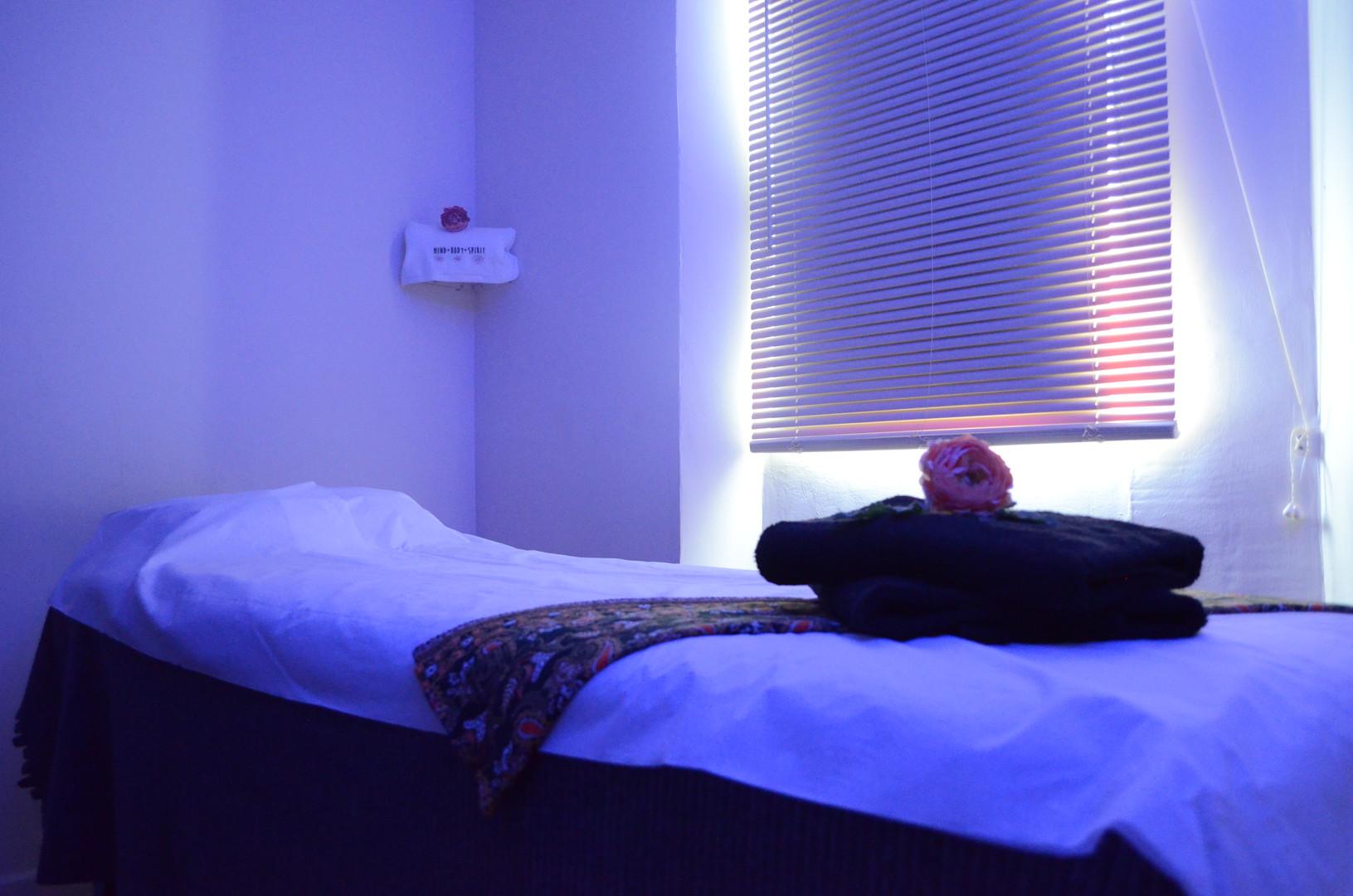 Massage Room Blue Light