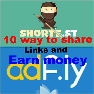 Top 10 ways to share adfly links & make money fast, 4th one