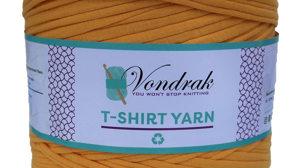 T-Shirt Yarn Mustard
