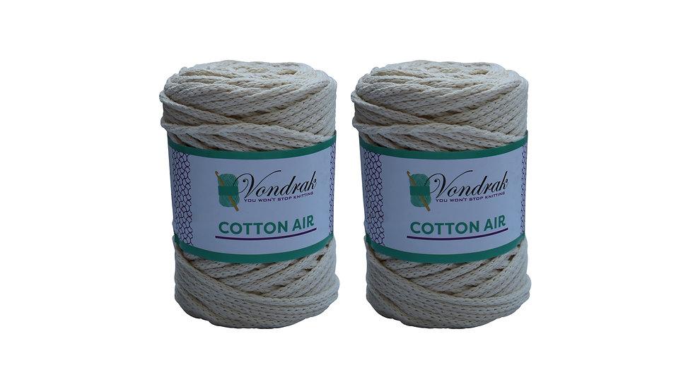 Cotton Air OFF-WHITE (2 skeins)