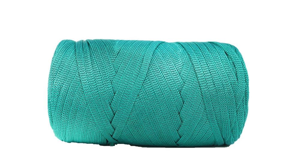 Glossy Tape Yarn EMERALD GREEN