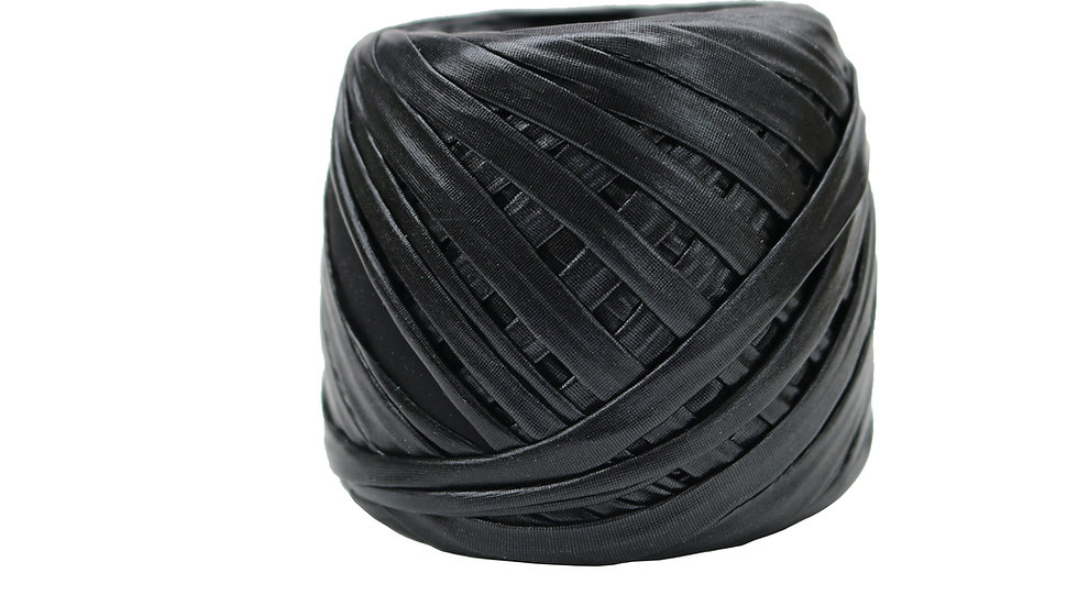 Metallic Yarn 55 yards BLACK