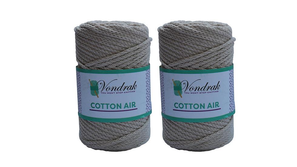 Cotton Air CREAM (2 skeins)