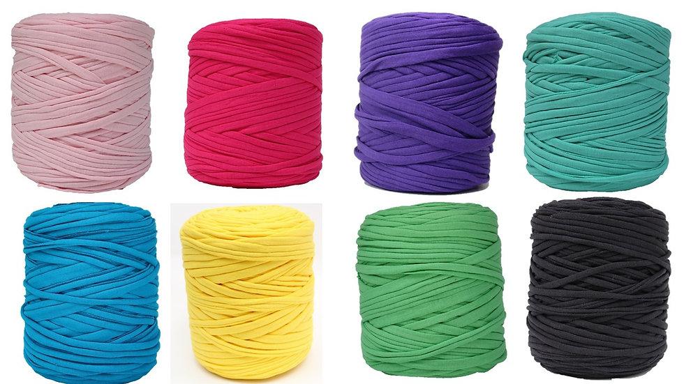 8 Skeins of T-Shirt Yarn 1040 Yards