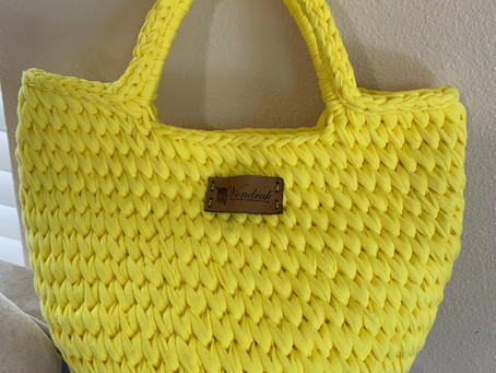 Leaning Stitch Bag!