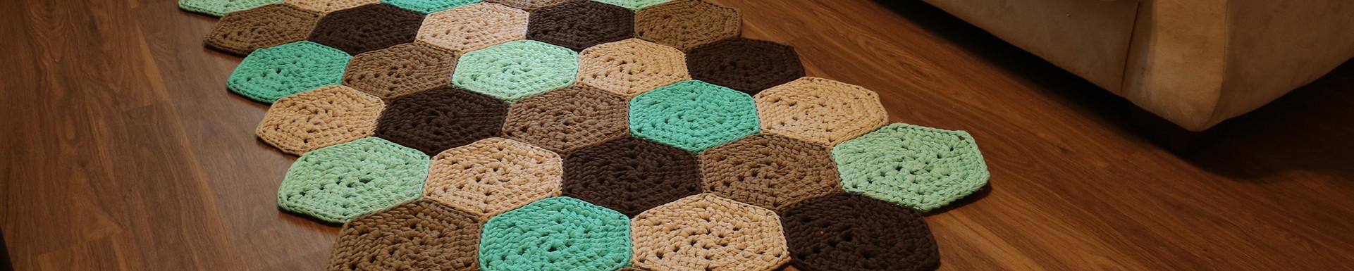 Hexagons Rug
