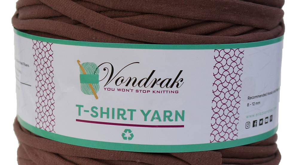 T-Shirt Yarn Brown