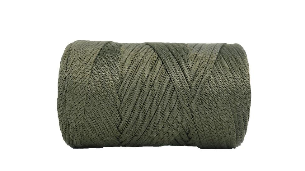 Glossy Tape Yarn OLIVE