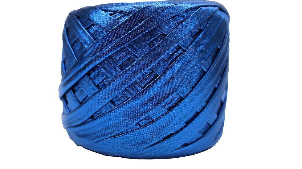 Metallic Yarn 55 yards COBALT BLUE