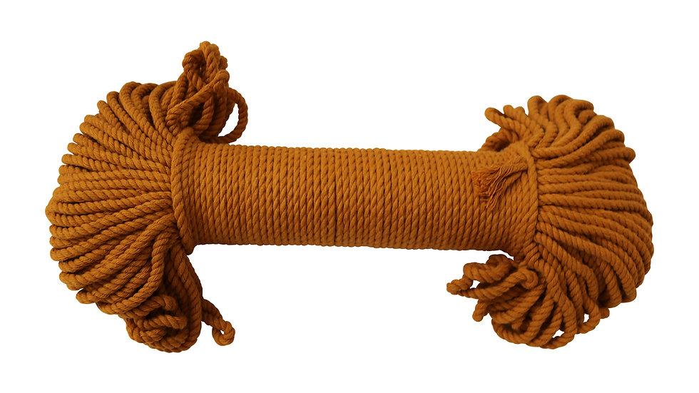 Macrame Rope 4mm 60 Yards Mustard